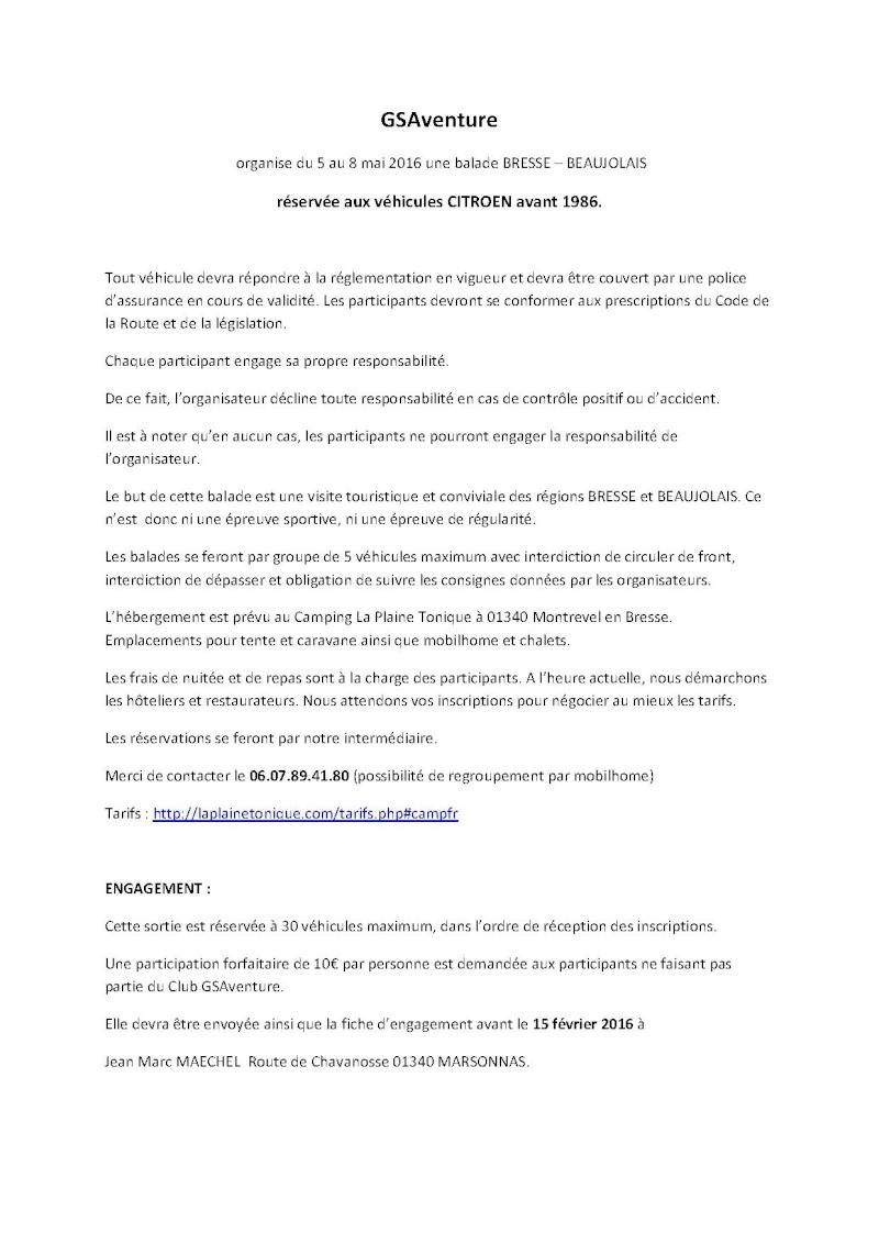 Balade entre Bresse et Beaujolais du 5 au 8 Mai 2016 Sortie17