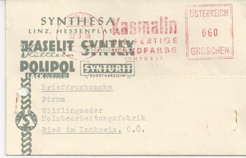 Sammlung Bedarfsbriefe Österreich ab 1945 - Seite 6 Bild108