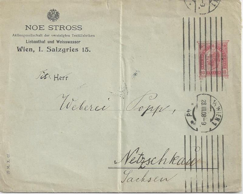 Private Briefumschläge Monarchie Bild16