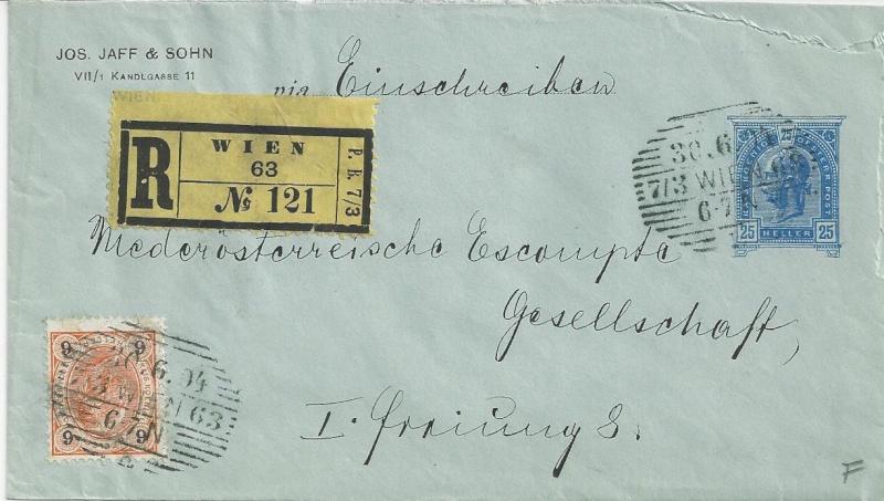 Private Briefumschläge Monarchie Bild22