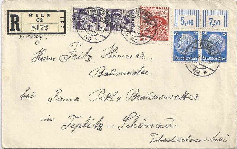 Österreich im III. Reich (Ostmark) Belege - Seite 7 Bild26