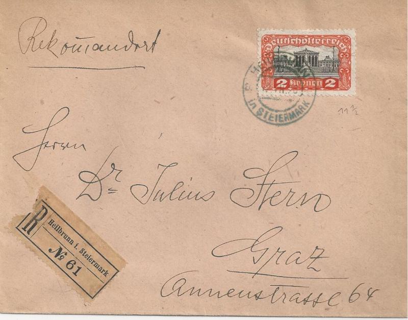 Inflation in Österreich - Belege - 1918 bis 1925 - Seite 6 Bild35