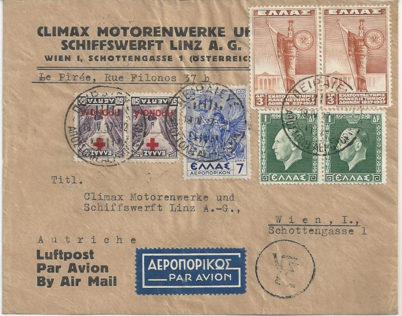 nach - Flugpost nach Österreich Bild36