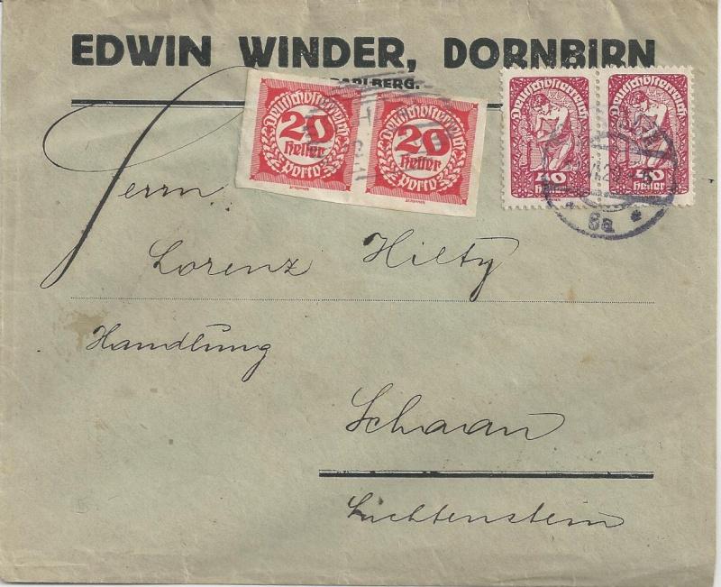 Inflation in Österreich - Belege - 1918 bis 1925 - Seite 6 Bild37
