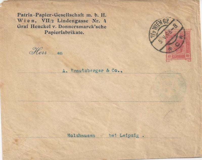 Private Briefumschläge Monarchie Bild41