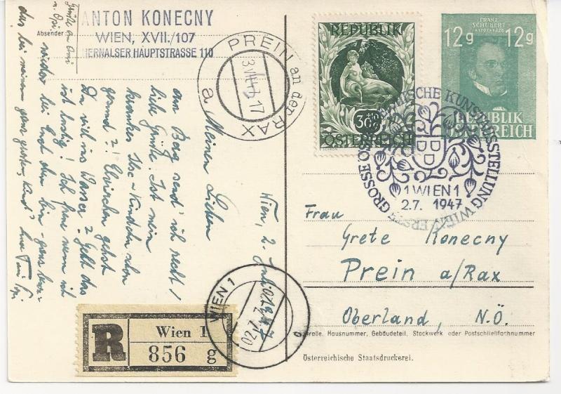 Private Ganzsachen-Postkarten Bild43