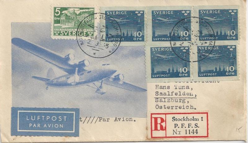 nach - Flugpost nach Österreich Bild52