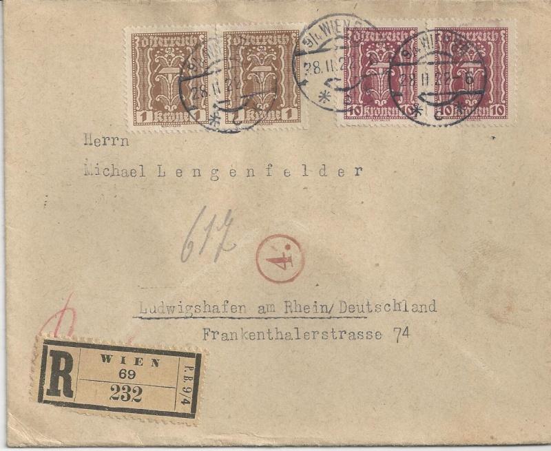 Devisenkontrolle im Deutschen Reich nach Ende des 1. Weltkrieges Bild75