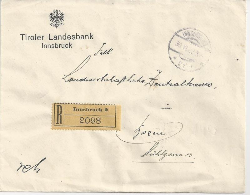 Briefe / Poststücke österreichischer Banken - Seite 3 Bild81