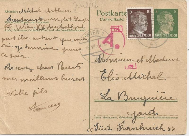 Österreich im III. Reich (Ostmark) Belege - Seite 7 Bild83