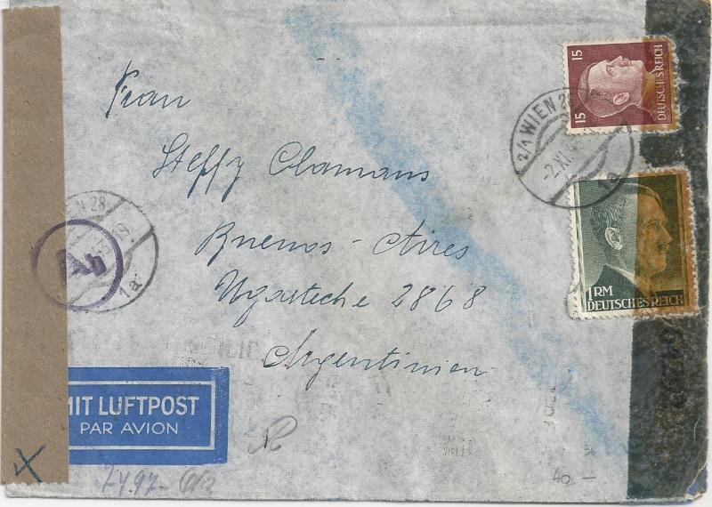 Österreich im III. Reich (Ostmark) Belege - Seite 7 Bild84