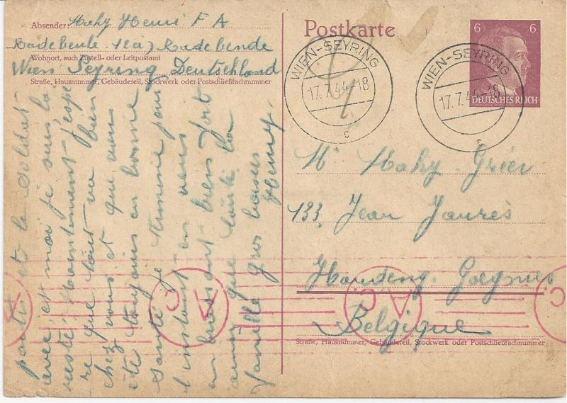 Österreich im III. Reich (Ostmark) Belege - Seite 7 Bild90