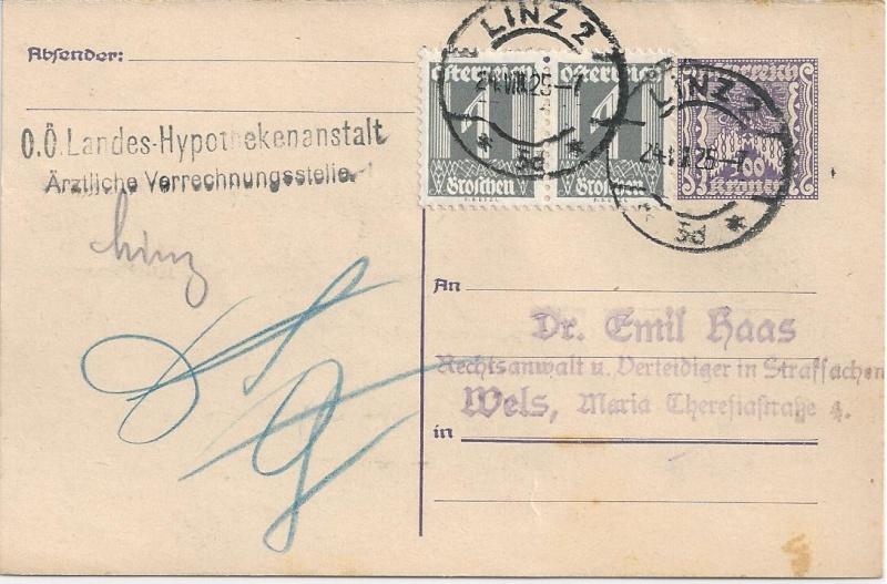 """Postkartenserie """"Quadratischer Wertstempel - Wertziffer im Dreieck"""" 1922-24 - Seite 5 Bild92"""