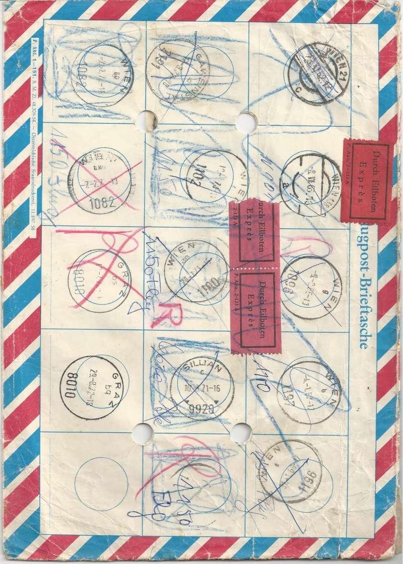 Flugpost-Brieftasche Bild93