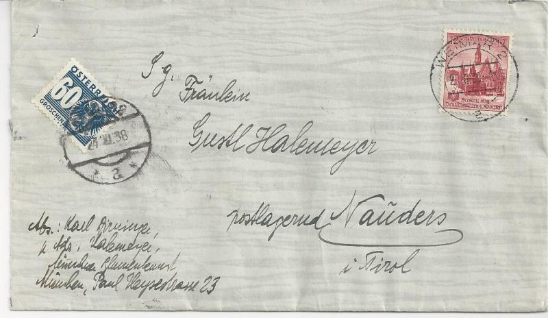Österreich im III. Reich (Ostmark) Belege - Seite 7 Bild99