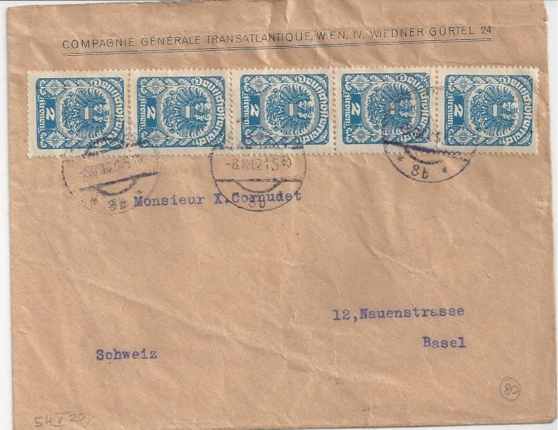 Inflation in Österreich - Belege - 1918 bis 1925 - Seite 7 Bild_110