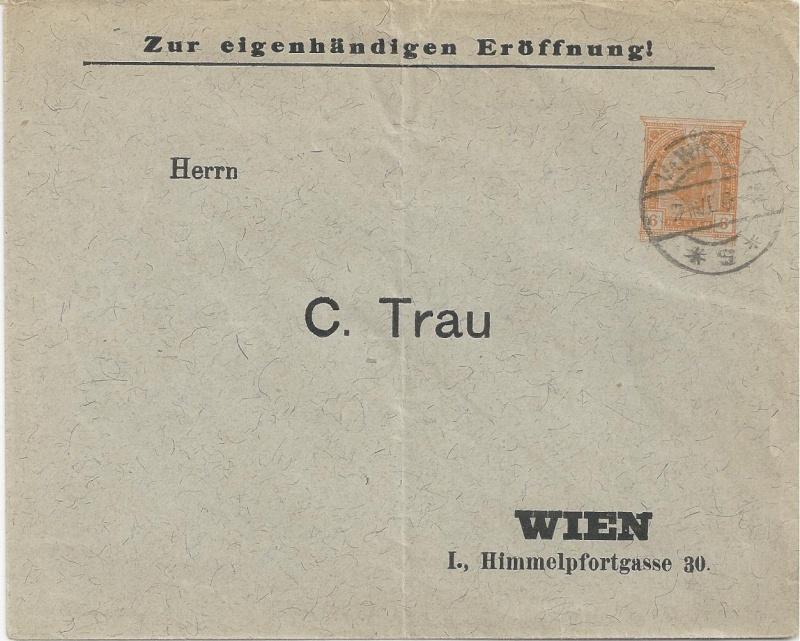 Private Briefumschläge Monarchie Bild_210