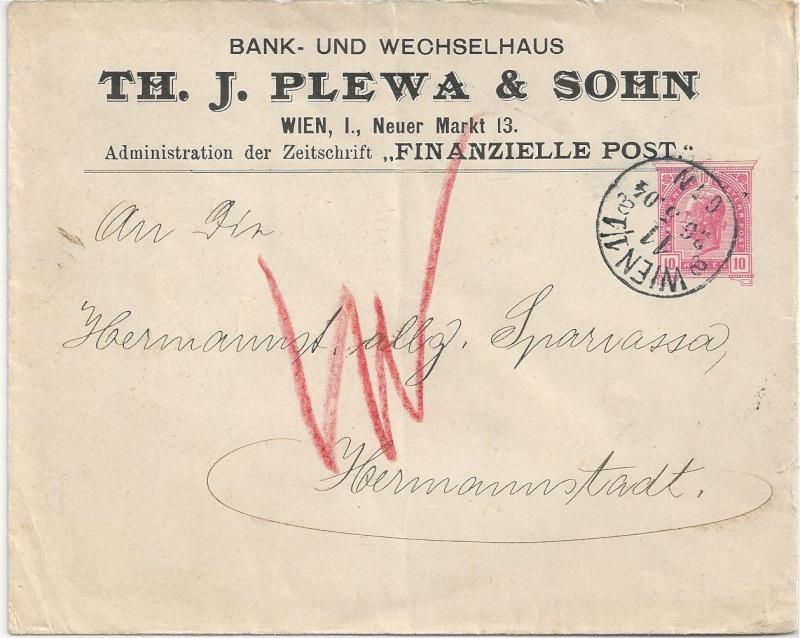 Private Briefumschläge Monarchie Bild_216