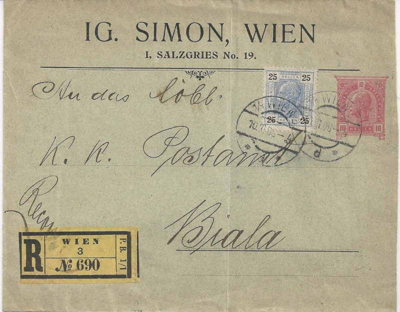 Private Briefumschläge Monarchie Bild_221