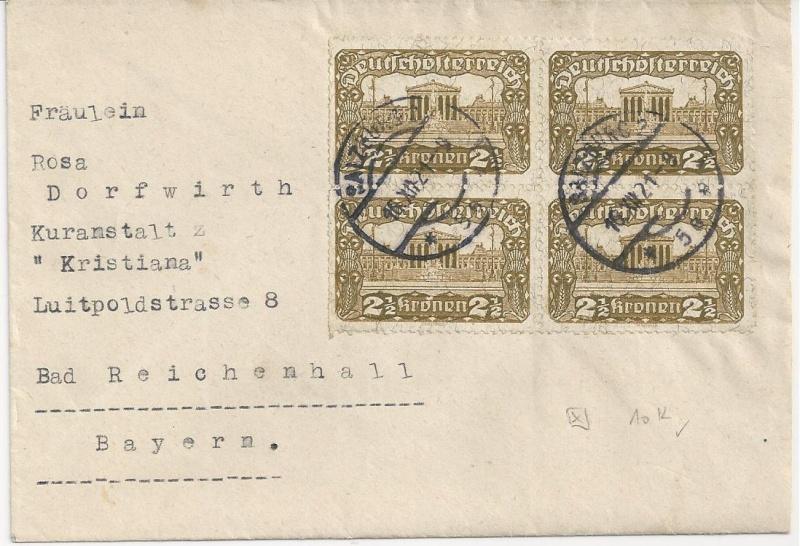 Inflation in Österreich - Belege - 1918 bis 1925 - Seite 6 Bild_232