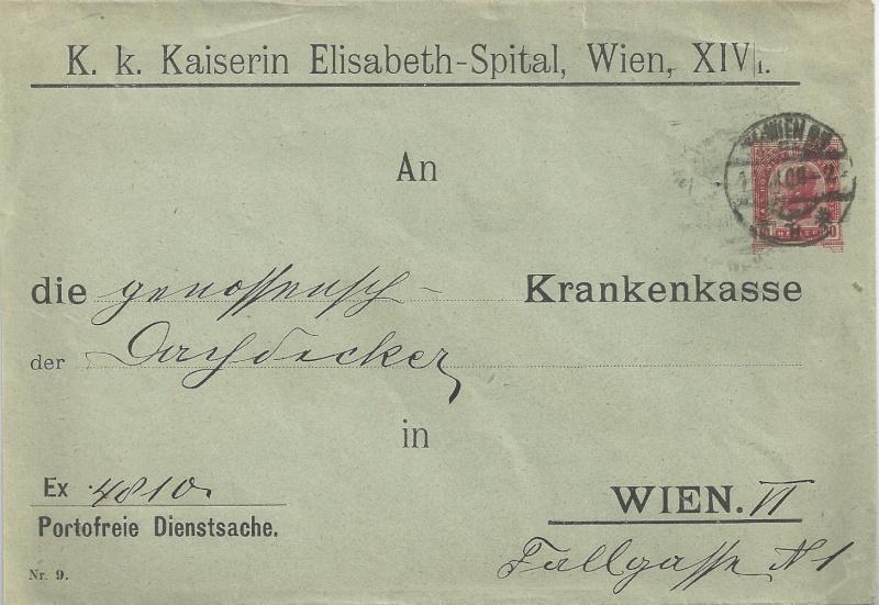 Private Briefumschläge Monarchie Bild_236