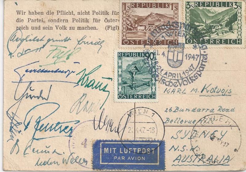 Briefe oder Karten von/an berühmte oder bekannte Personen Bild_239