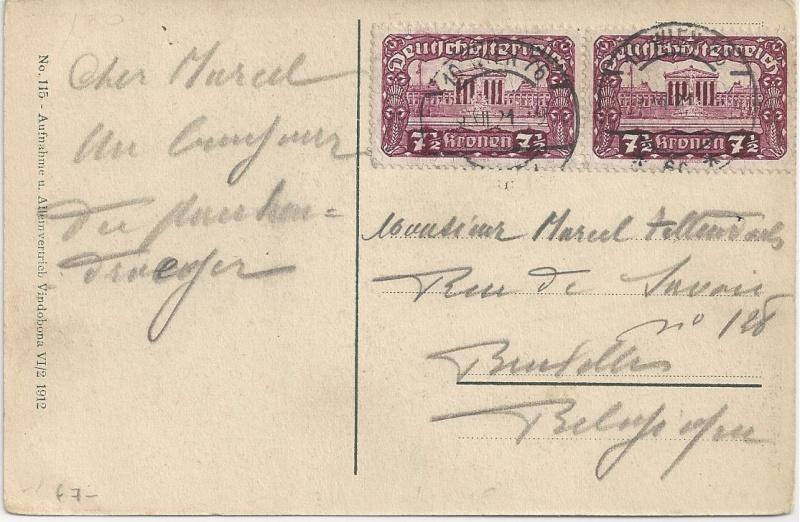 Inflation in Österreich - Belege - 1918 bis 1925 - Seite 6 Bild_250