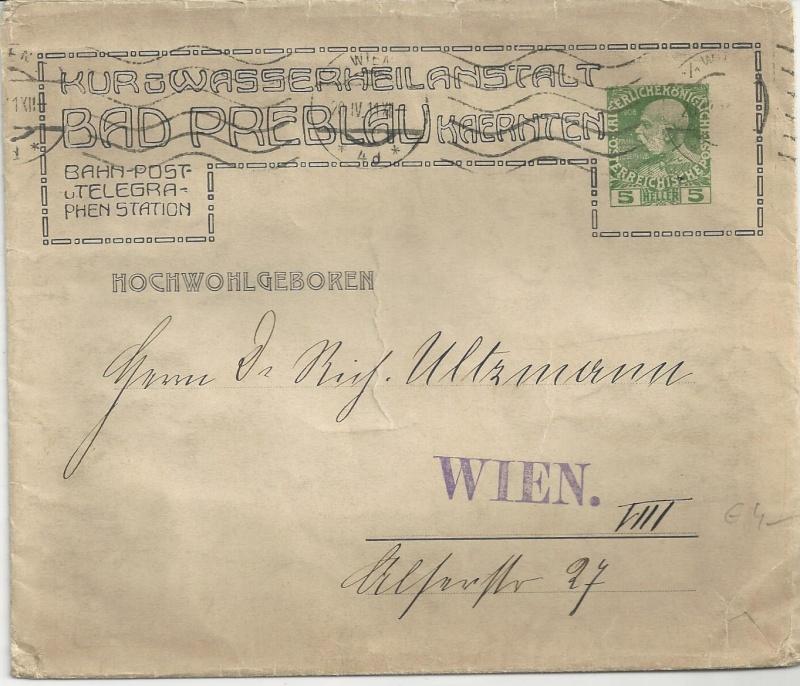 Private Briefumschläge Monarchie Bild_283