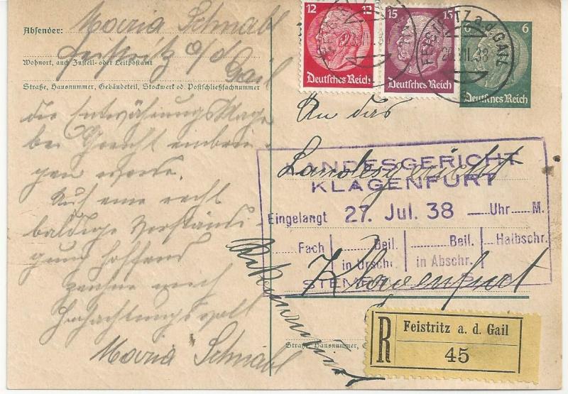 Österreich im III. Reich (Ostmark) Belege - Seite 7 Bild_285