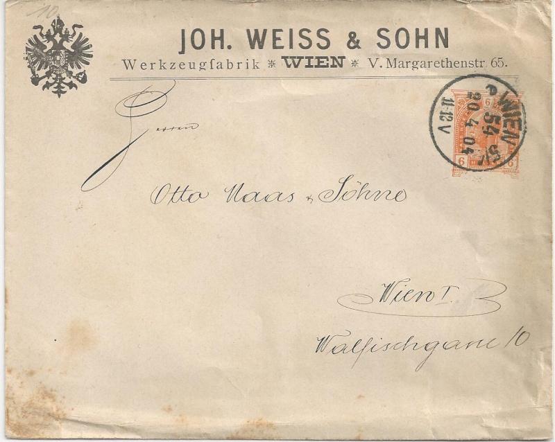 Private Briefumschläge Monarchie Bild_310