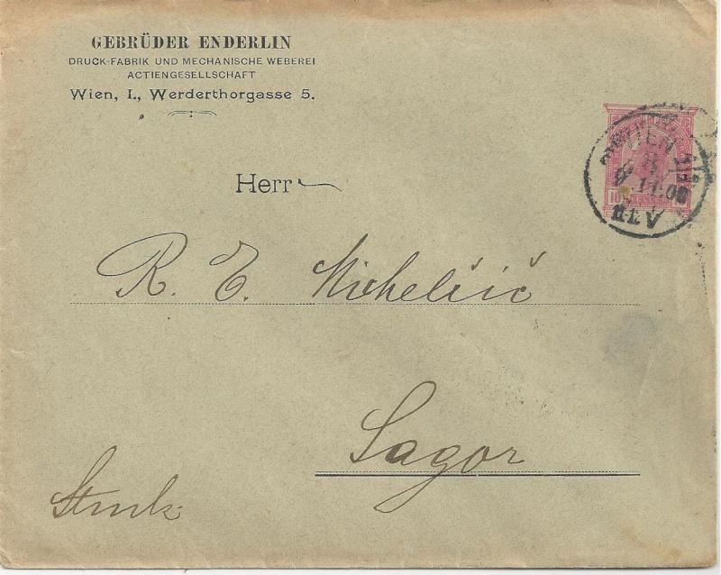 Private Briefumschläge Monarchie Bild_314