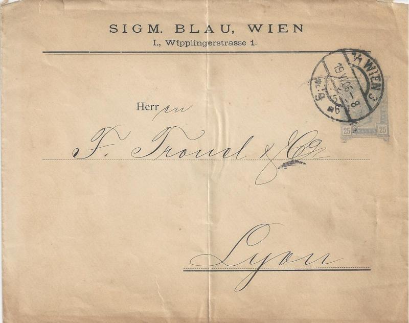 Private Briefumschläge Monarchie Bild_316
