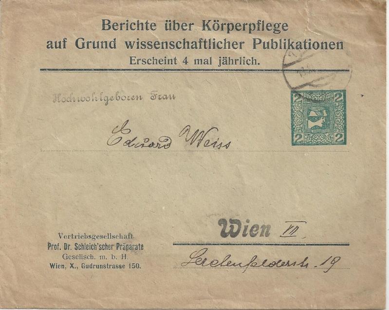 Private Briefumschläge Monarchie Bild_325