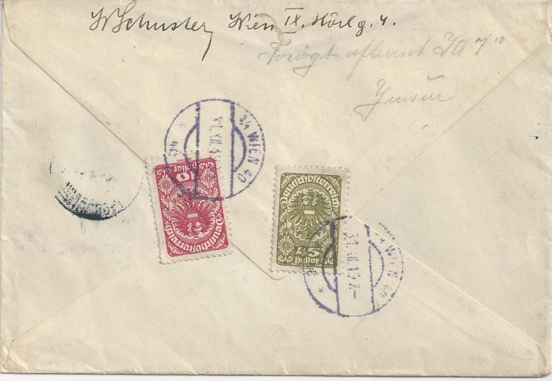 Inflation in Österreich - Belege - 1918 bis 1925 - Seite 6 Bild_326