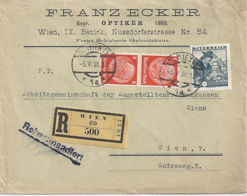 Österreich im III. Reich (Ostmark) Belege - Seite 7 Bild_331