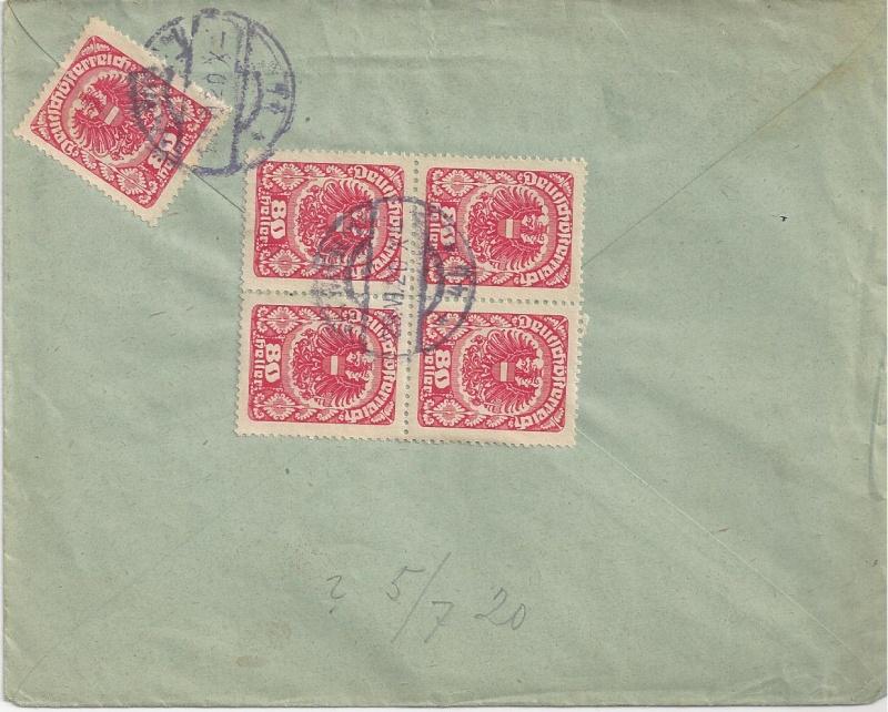 Inflation in Österreich - Belege - 1918 bis 1925 - Seite 7 Bild_337
