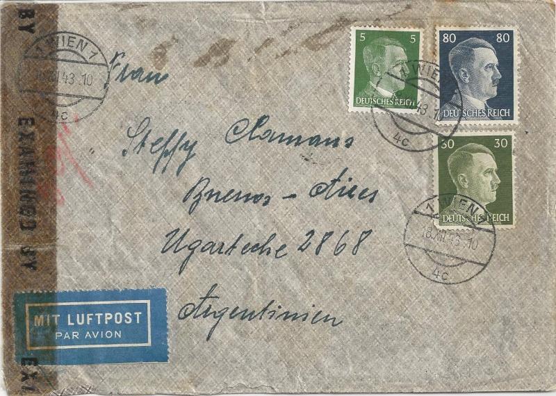 Österreich im III. Reich (Ostmark) Belege - Seite 7 Bild_343