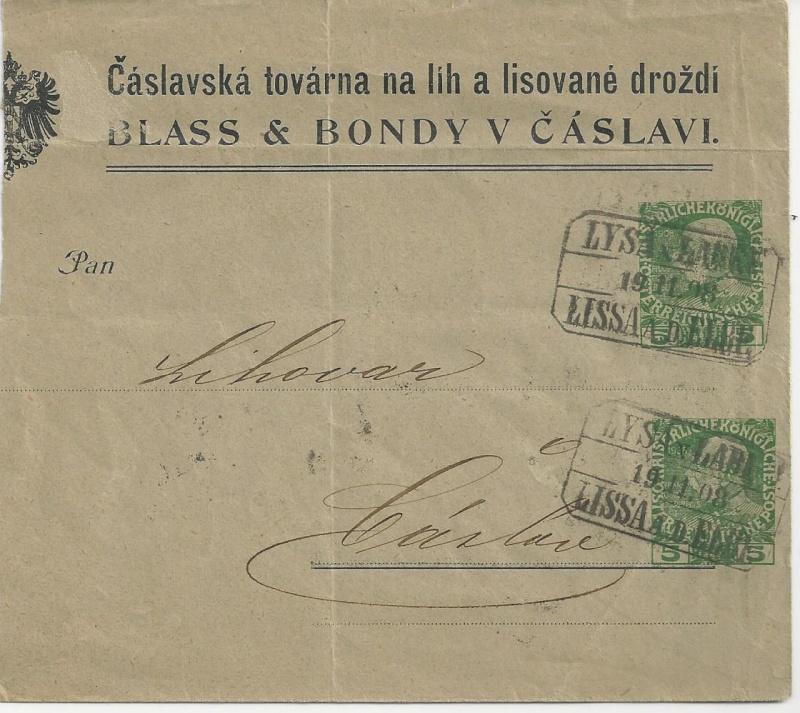 Private Briefumschläge Monarchie Bild_349
