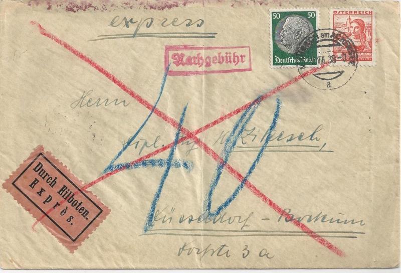 Österreich im III. Reich (Ostmark) Belege - Seite 7 Bild_411