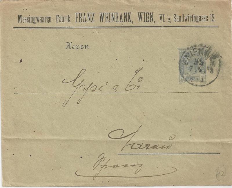 Private Briefumschläge Monarchie Bild_414