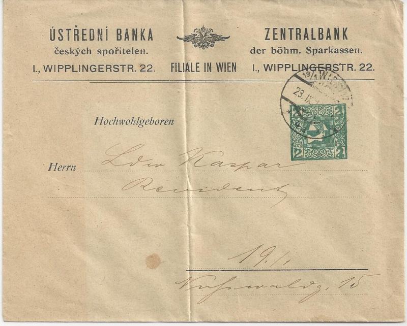 Private Briefumschläge Monarchie Bild_422