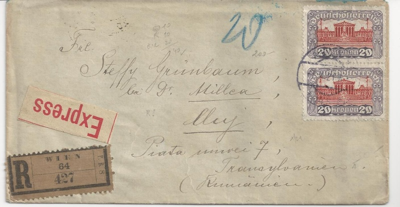 Inflation in Österreich - Belege - 1918 bis 1925 - Seite 6 Bild_424