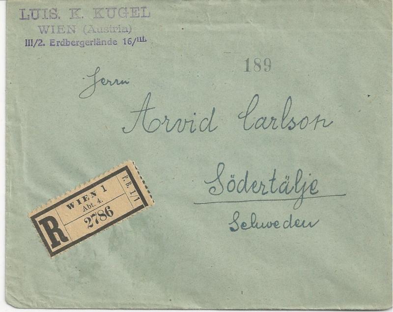 Inflation in Österreich - Belege - 1918 bis 1925 - Seite 7 Bild_429