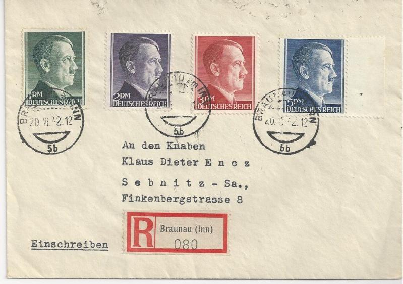 Österreich im III. Reich (Ostmark) Belege - Seite 7 Bild_437