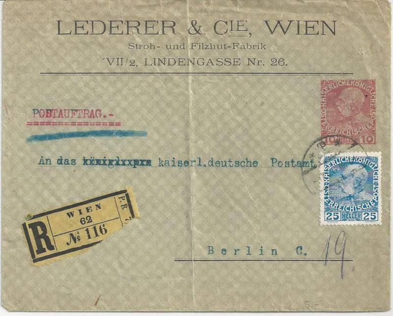 Private Briefumschläge Monarchie Bild_438