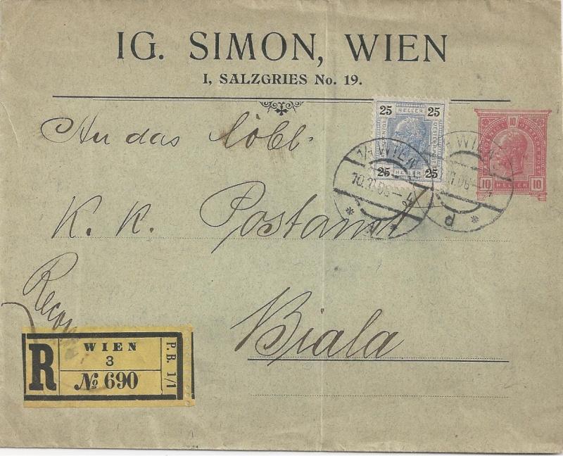 Private Briefumschläge Monarchie Bild_511