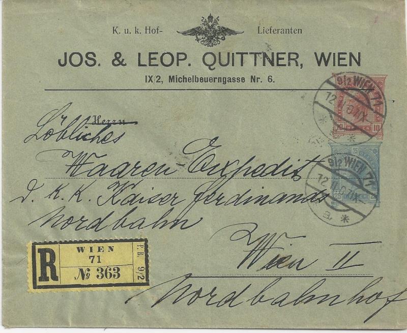 Private Briefumschläge Monarchie Bild_512