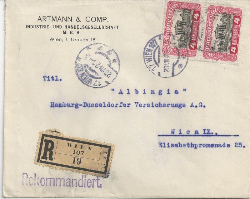 Inflation in Österreich - Belege - 1918 bis 1925 - Seite 6 Bild_516