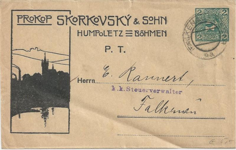 Private Briefumschläge Monarchie Bild_517