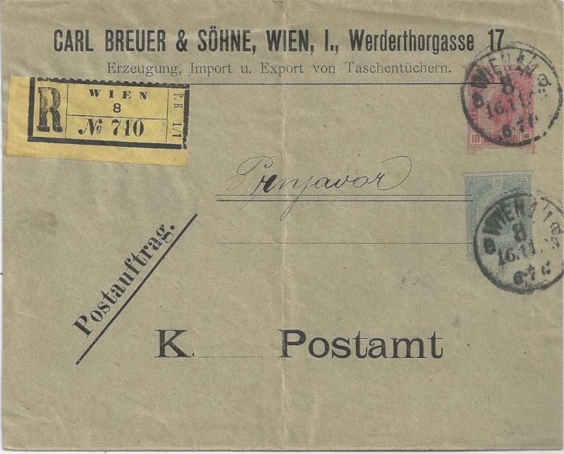 Private Briefumschläge Monarchie Bild_611